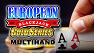 Multi-hand European Blackjack Gold